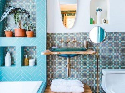 En Renkli Banyo Dekorasyon Örnekleri